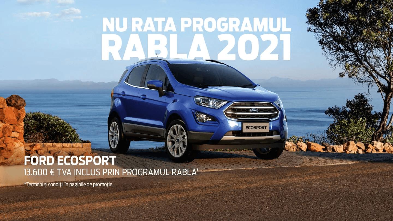 Programul RABLA de la Ford pentru PERSOANE FIZICE